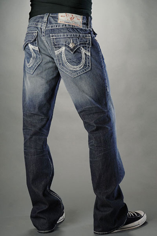True Religion Straight Leg Jeans Men