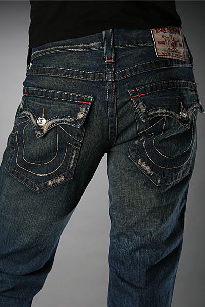 True Religion Bootcut jeans Men Billy Super T - Pipeline Dark