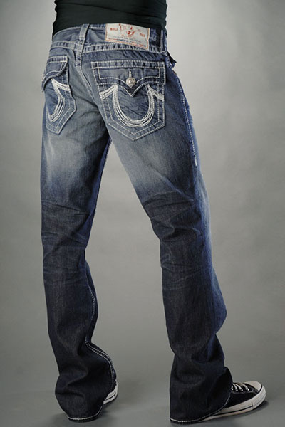 True Religion Bootcut Leg Jeans Men