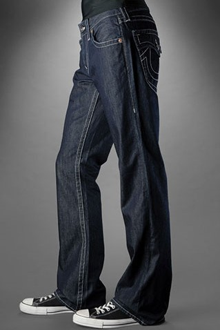 True Religion Mens Bootcut Jeans