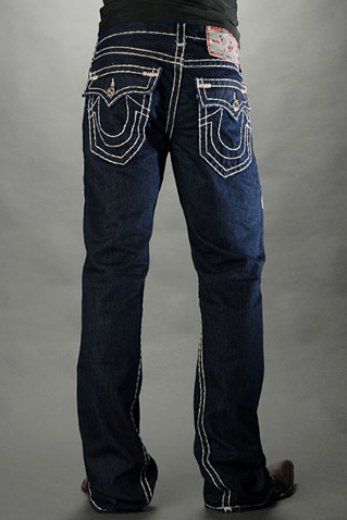 True Religion Mens Flare Jeans