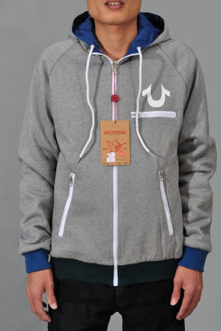 True Religion Hoodies For Men - Double-side Wear