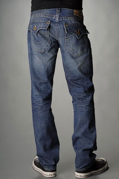 True Religion Men's Slim Fit Jeans