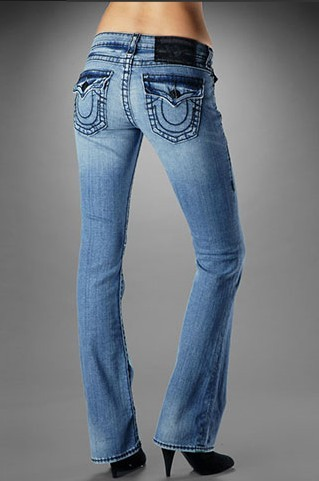 True Religion Womens Becky Big T Stretch - Wildcat Medium