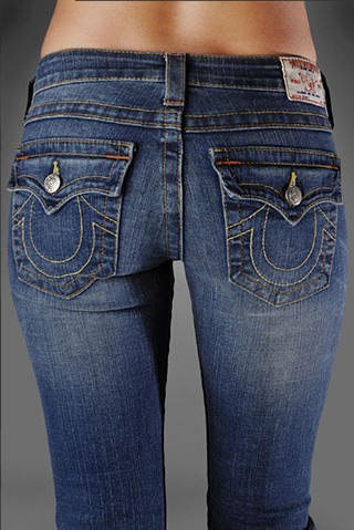 True Religion Womens Bootcut Jeans