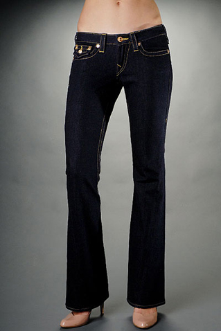 True Religion Womens Flare Jeans