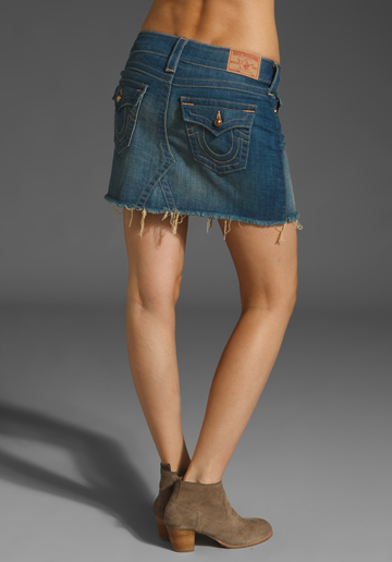 True Religion Jean Skirts Women