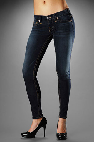 True Religion Womens Skinny Jeans