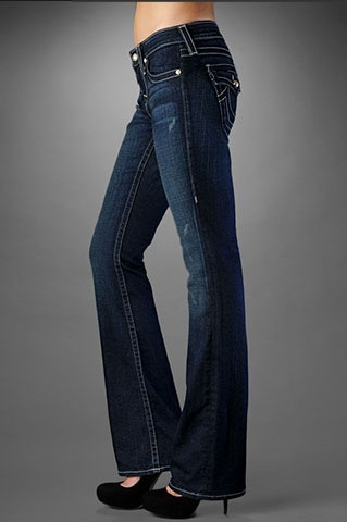 True Religion Jeans Straight Leg Women